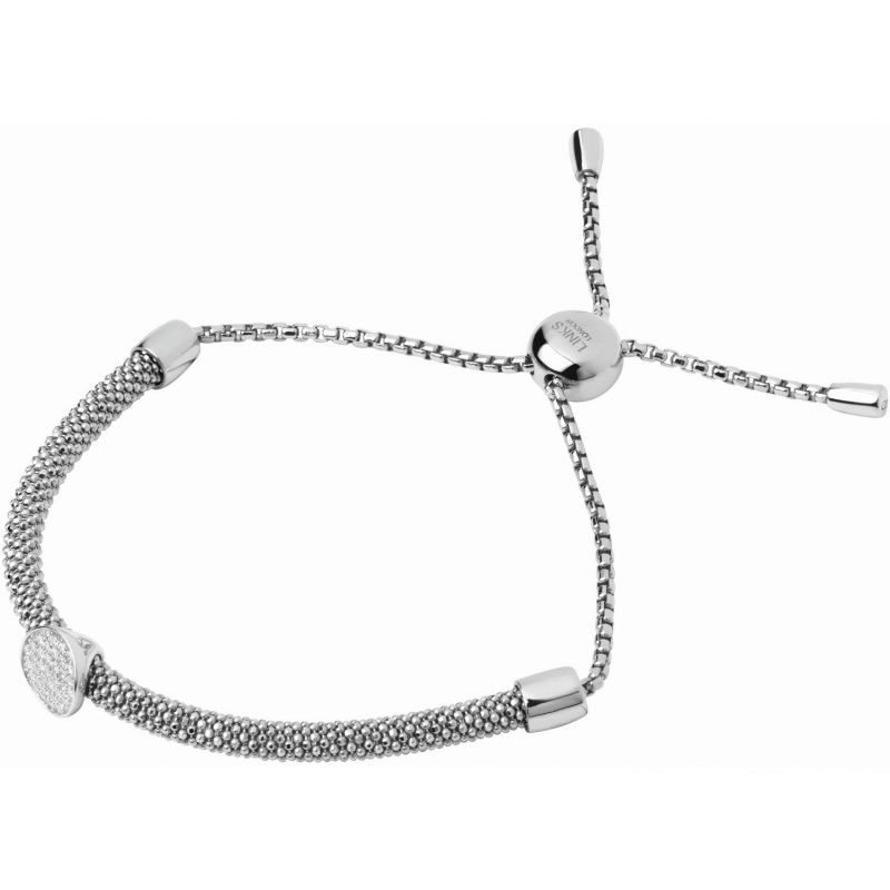 Ladies Links Of London Sterling Silver Starlight Bead Toggle Bracelet from Links Of London Jewellery