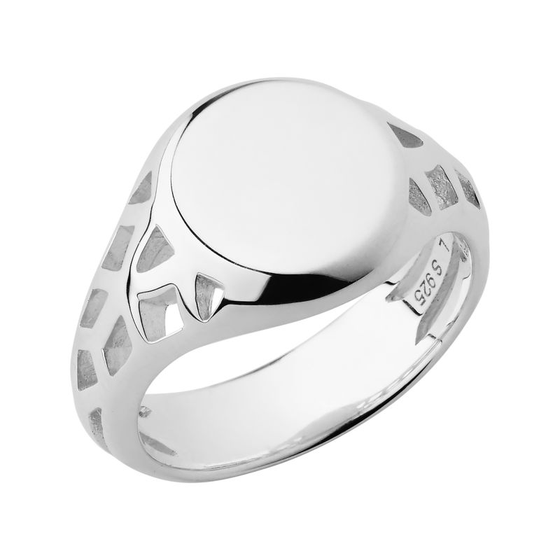 Ladies Links Of London Sterling Silver Timeless Extension Ring Size L from Links Of London Jewellery