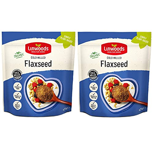 Linwoods Organic Milled Flaxseed, 425 g - Pack of 2 from Linwoods