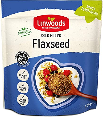 Linwoods Organic Milled Flaxseed, 425g from Linwoods
