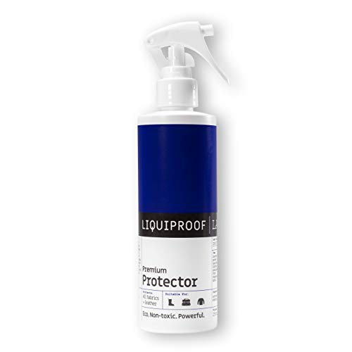 Liquiproof LABS Premium Protector Spray 250ml - long lasting waterproof and stain protection for leather, suede, nubuck, sheepskin and fabrics. For use on shoes, handbags, trainers, boots, clothes etc from Liquiproof