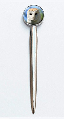 Barn Owl Design On A Lovely Polished Letter Opener Ideal Birthday Gift Comes Gift Boxed N98 from Lisasgiftsforyou