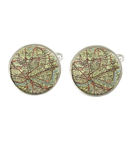 Personalised Any City Town Place Map Mens Cufflinks Ideal Wedding Birthday Or Fathers Day Gift C258 from Lisasgiftsforyou