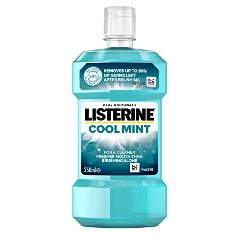 Listerine Cool Mint Mouthwash, 250ml from Listerine