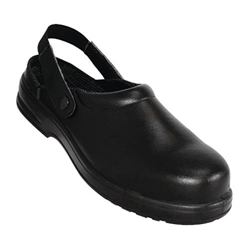 Lites Safety Footwear A813-42 Unisex Clogs, Black from Lites Safety Footwear