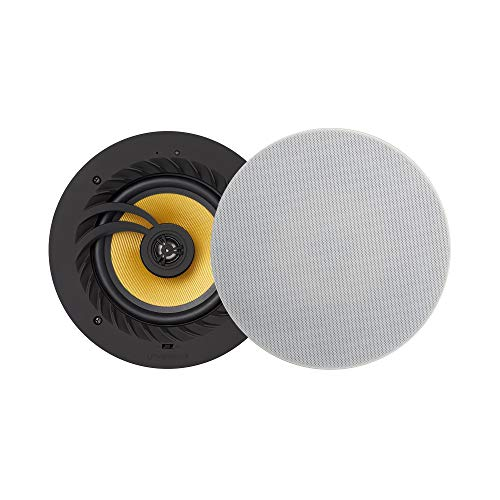 Echo Dot Compatible Bluetooth Ceiling Speaker - Lithe Audio (Pair Speakers (Master & Slave)) from LITHEAUDIO