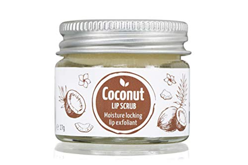 Coconut Lip Scrub - 100% Natural, Vegan, Eco Friendly - 27g from Little Organic Company