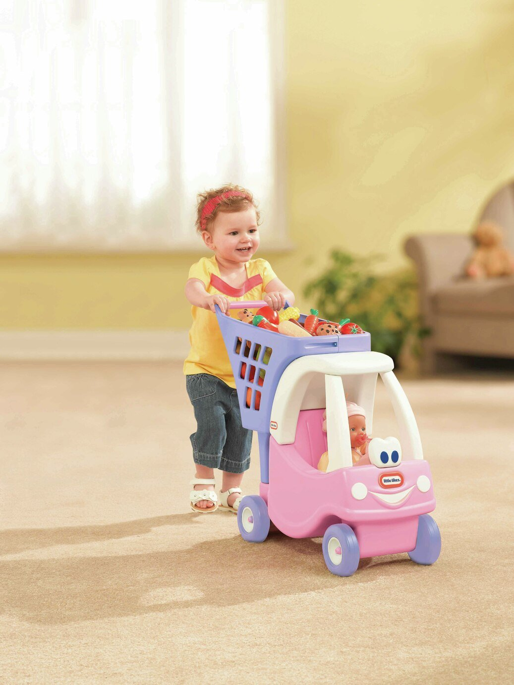 Little Tikes Princess Cozy Coupe Shopping Cart. from little tikes