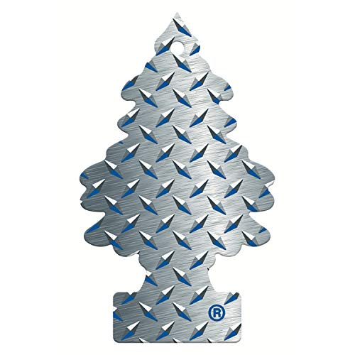 Little Trees MTR0060 Air Freshener, Pure Steel Fragrance, 1 unit from Little Trees
