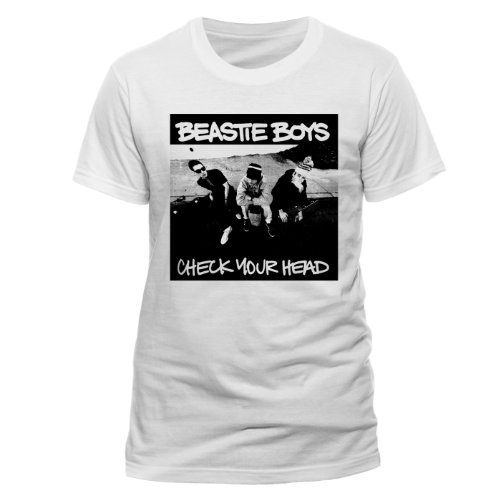 Live Nation Beastie Boys - Check Your Head Men's T-Shirt White X-Large from Live Nation