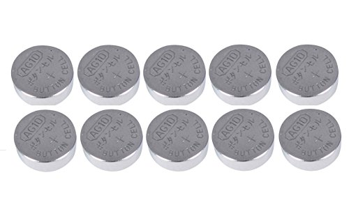 10 x 1.55V Button Coin Cell Watch Battery Batteries AG10 AG-10 LR1130S LR1130W from Live-wire-direct