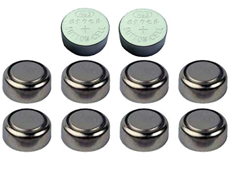10 x 1.55V Button Coin Cell Watch Battery Batteries AG3 SR41 LR41 LR736 192 384 from Live-wire-direct