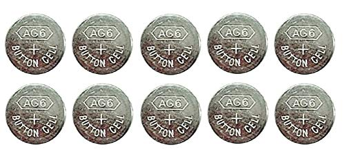 10 x 1.55V Button Coin Cell Watch Battery Batteries AG6 AG-6 LR920 LR69 LR921 GP371 from Live-wire-direct