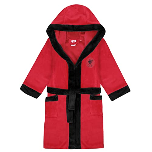 7d84956924d Liverpool FC Official Football Gift Boys Fleece Dressing Gown Robe Red 5-6  Yrs from. found at Amazon Marketplace