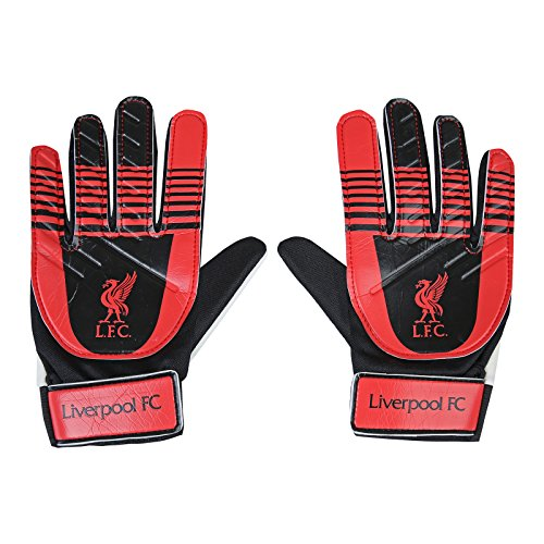 Liverpool FC Official Football Gift Boys Goalkeeper Goalie Gloves from Liverpool F.C.