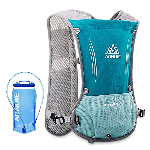 Lixada Hydration Pack Hydration Vest Lightweight Breathable Water Bottle Backpack for Outdoors Running Cycling Climbing with 1.5L Hydration Bladder from Lixada