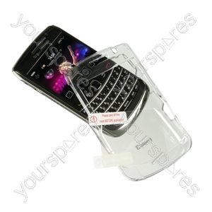 BlackBerry Bold 9700 Crystal Case & Screen Prot from Logic3