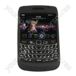 BlackBerry Bold 9700 Silicone Case & Screen Prot from Logic3