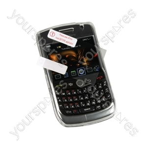 BlackBerry Curve 8520 Crystal Case & Screen Prot from Logic3