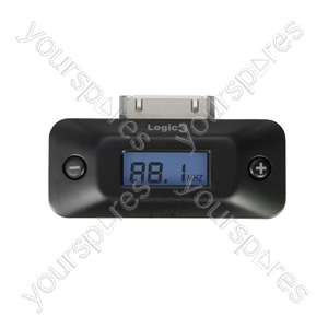 FM Transmitter with LCD Screen for iPod from Logic3