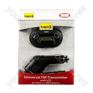 Universal FM Transmitter with LCD from Logic3