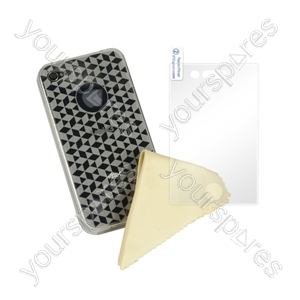 iPhone 4 - Deluxe Tpu Case - Transparent from Logic3