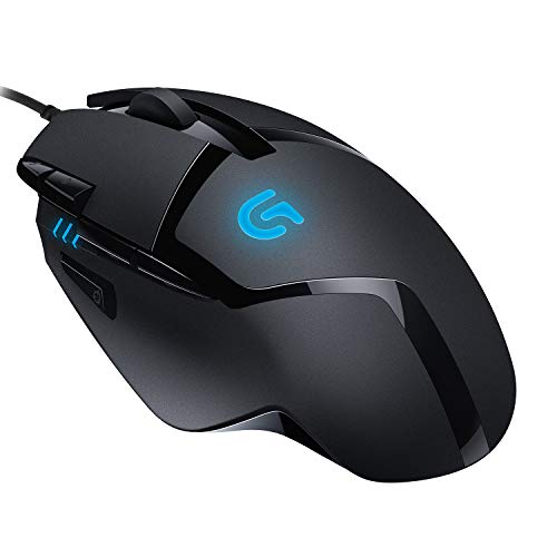 Logitech G402 Gaming Mouse Hyperion Fury with 8 Programmable Buttons, Black from Logitech