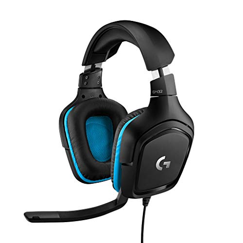 Logitech G432 Surround Sound Gaming Headset 7.1 from Logitech