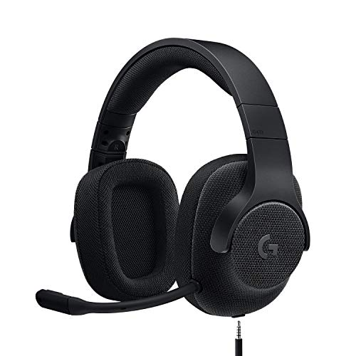 Logitech G433 Wired Gaming Headset, 7.1 Surround Sound for PC, Xbox One, PS4, Switch, Mobile - Black from Logitech