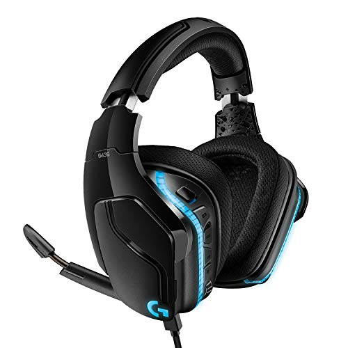 Logitech G635 7.1 Surround Sound Gaming Headset - Lightsync RGB from Logitech