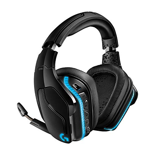 Logitech G935 Gaming Headset 2.4 GHz Wireless 7.1 Surround Sound Pro for PC, Xbox One and PS4 - Black from Logitech