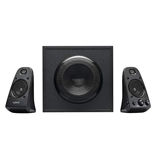 Logitech Z623 2.1 Speaker System for PC/Mac/Linux or Any Device with 3.5 mm and RCA Audio Out, Black from Logitech