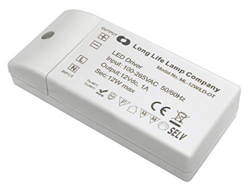12W LED Driver for MR16-MR11 LEDs 1000mA from Long Life Lamp Company