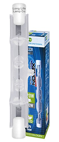 2 x ECO Energy Saving R7s J78 Halogen Tube Linear 120w TOP Brand from Long Life Lamp Company