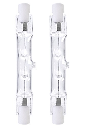 2 x ECO Energy Saving R7s J78 Halogen tube linear 80w=100w TOP BRAND from Long Life Lamp Company