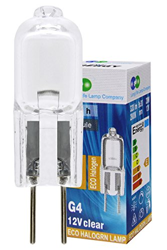 20 x G4 Halogen Light Bulbs Lamps 20W 12v from Long Life Lamp Company