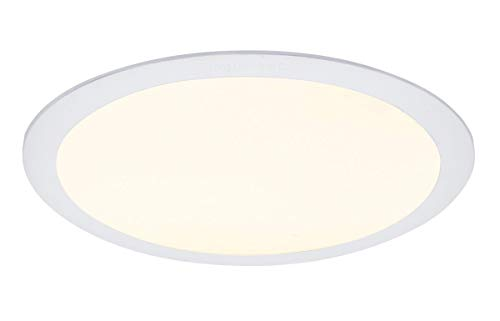 24w Round LED Ceiling Panel Recessed Down Light Flat Ultra Slim Lamp Warm White 3500K Super Bright 300mm x 300mm from Long Life Lamp Company