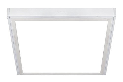 40w Surface Mount LED Panel 600 x 600 Frame with LED Panel White Body 3 Year Warranty 6500k Super Bright Daylight from Long Life Lamp Company