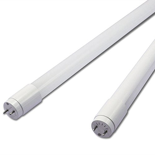 Opaque T8 LED Tube Lights G13 Fluorescent Replacements Energy Saver 2ft/3ft 6400k (2 feet) from Long Life Lamp Company