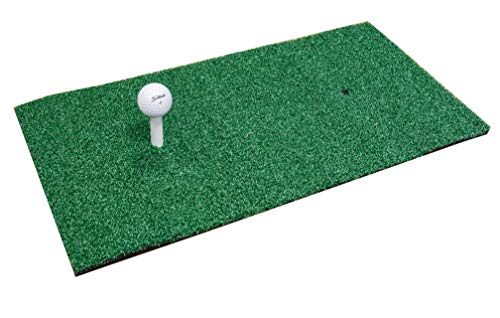 Longridge Deluxe Golf Practice Mat - Green, 1x2 Inch from Longridge