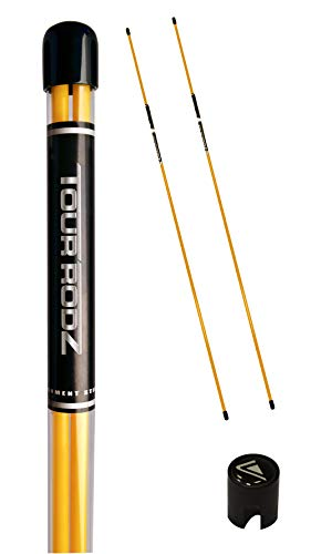 Longridge Tour Rodz Alignment Sticks Golf Practice Aid - Yellow from Longridge
