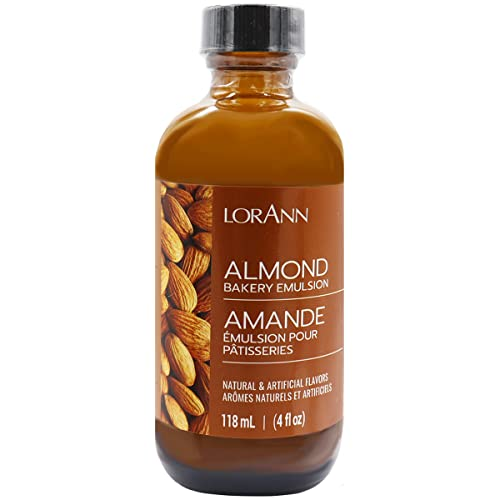 Lorann Oils Bakery Emulsions Natural and Artificial Flavor 4oz-Almond,  Other,  Multicoloured from Lorann Oils