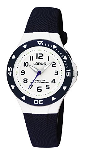 Lorus by Seiko RRX43CX9 Blue Plastic Children's Watch Backlight from Lorus