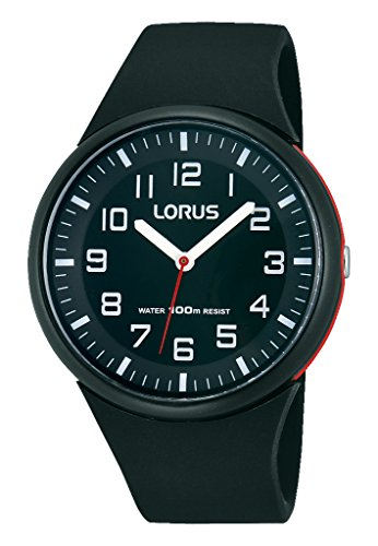 Lorus Ladies Watch Analogue Rubber Quartz Fashion RRX47DX9 from Lorus