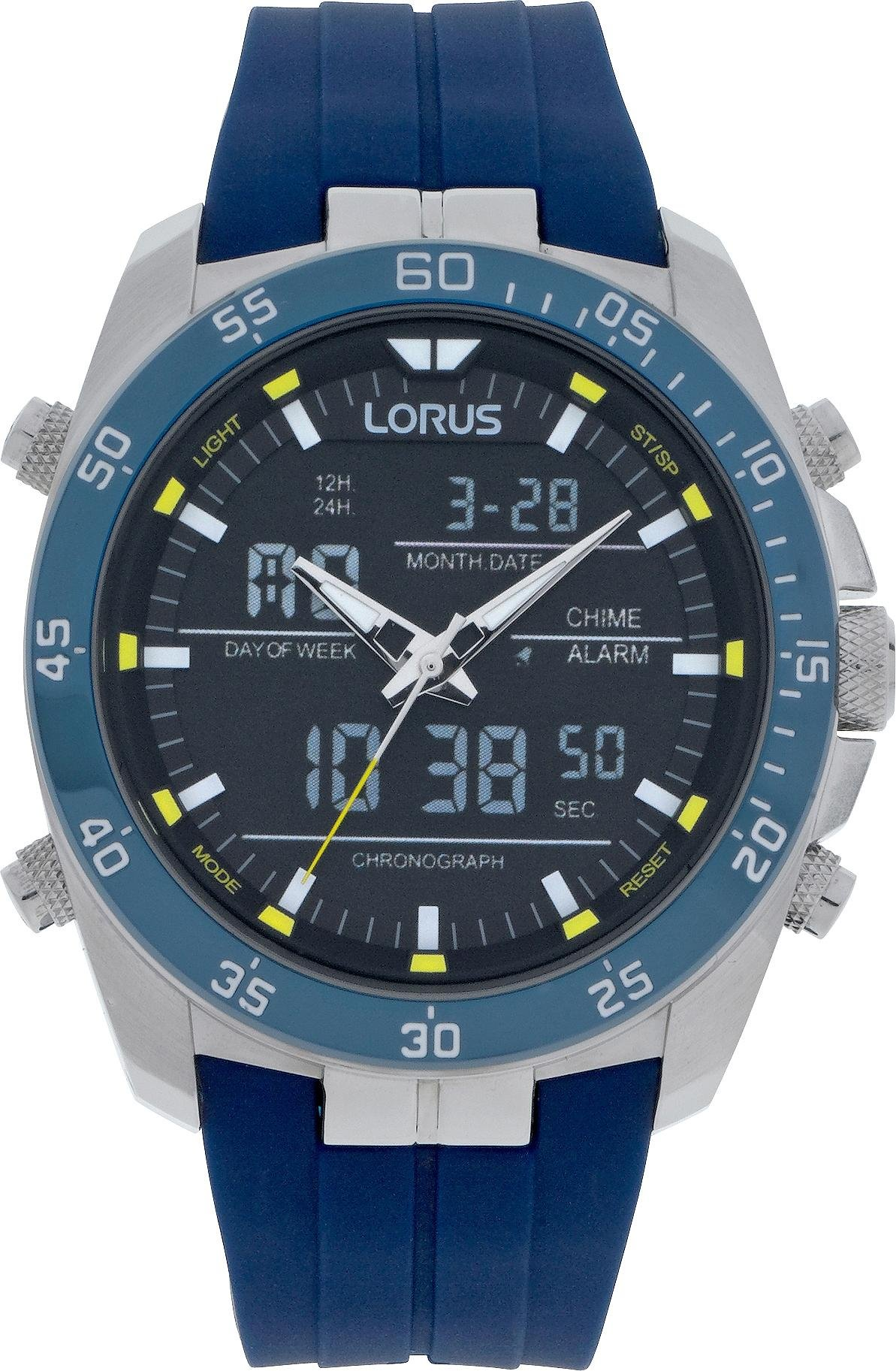 Lorus - Mens Blue Strap Sports - Watch from Lorus