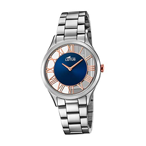 Lotus Women's Analogue Analog Quartz Watch with Stainless Steel Strap 18395/6 from Lotus