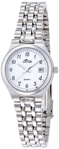 Lotus Women's Quartz Watch with Black Dial Analogue Display Quartz Stainless Steel 15032/1 from Lotus