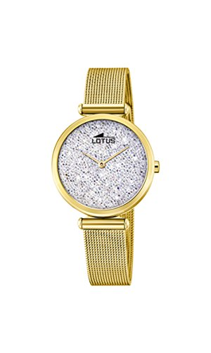 Lotus Womens Analogue Quartz Watch with Stainless Steel Strap 18565/1 from Lotus
