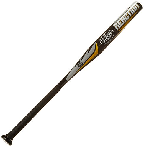 Louisville Slugger Reaction Softball Bat - Black, 28 Oz from Louisville Slugger