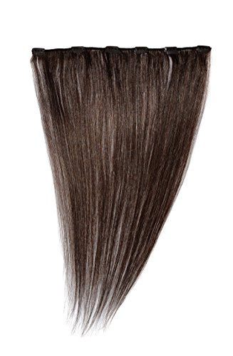 Love Hair Extensions 18 inch Clip In Extension, Human Hair, Colour 4 - Chestnut Brown from Love Hair